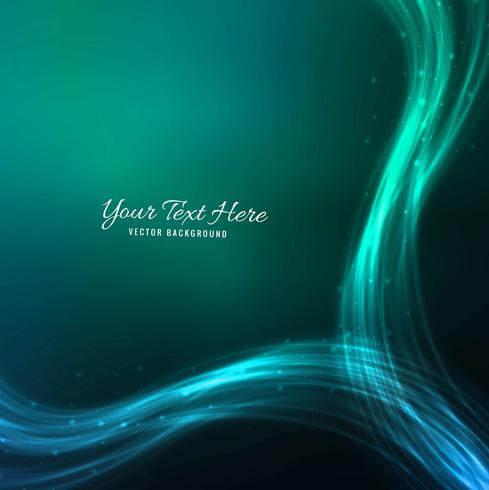 Abstract stylish wave blue background