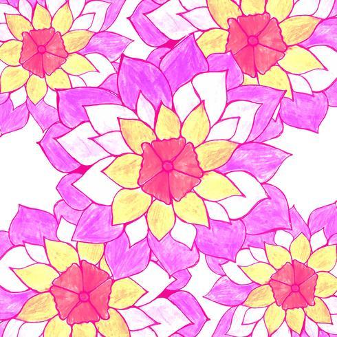 Moderner colroful Blumenhintergrund