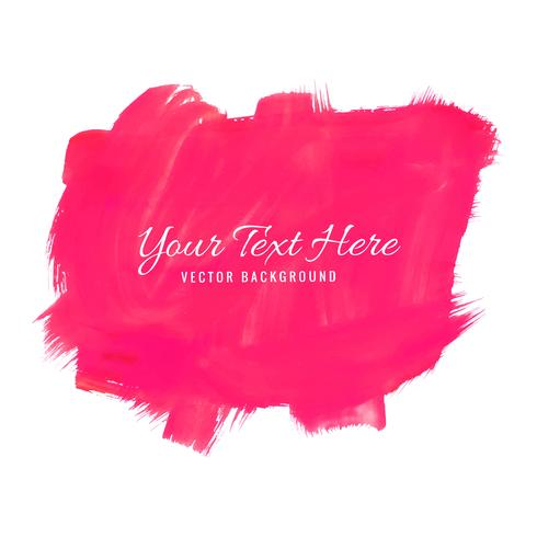 Priorità bassa astratta della spruzzata dell'acquerello rosa