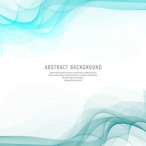 Abstracte blauwe golf ontwerp achtergrond