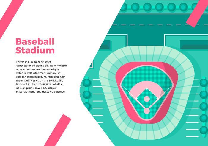 Baseball Stadium Top View Interface