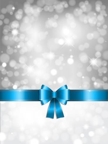 Silber Weihnachtshintergrund