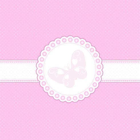 Baby roze achtergrond