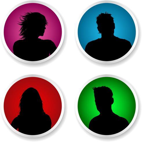 Mensen avatars