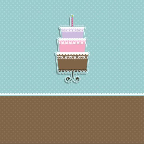 Netter Kuchenhintergrund