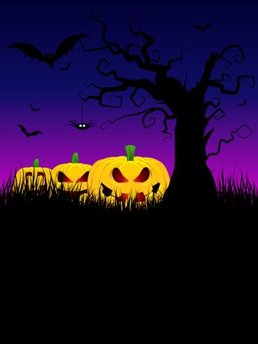 Sfondo di Halloween vettore