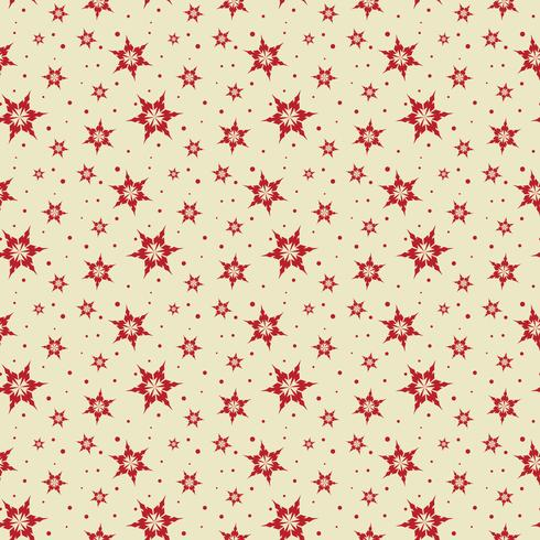 Seamless kakel Snowflake bakgrund