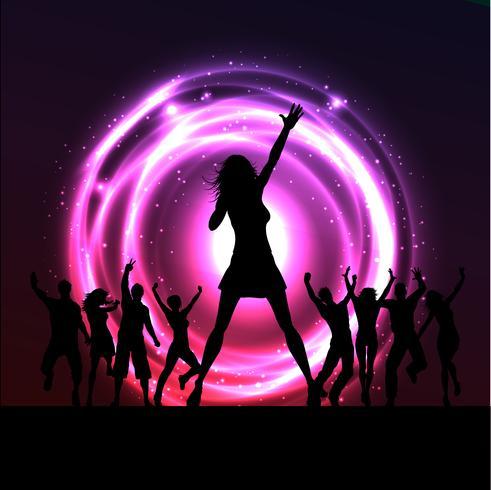 Kvinnlig sångerska utförande