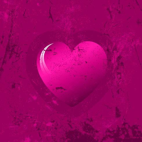 Sfondo cuore grunge