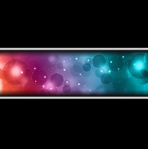 abstrakter Hintergrund mit Bokeh-Effekt