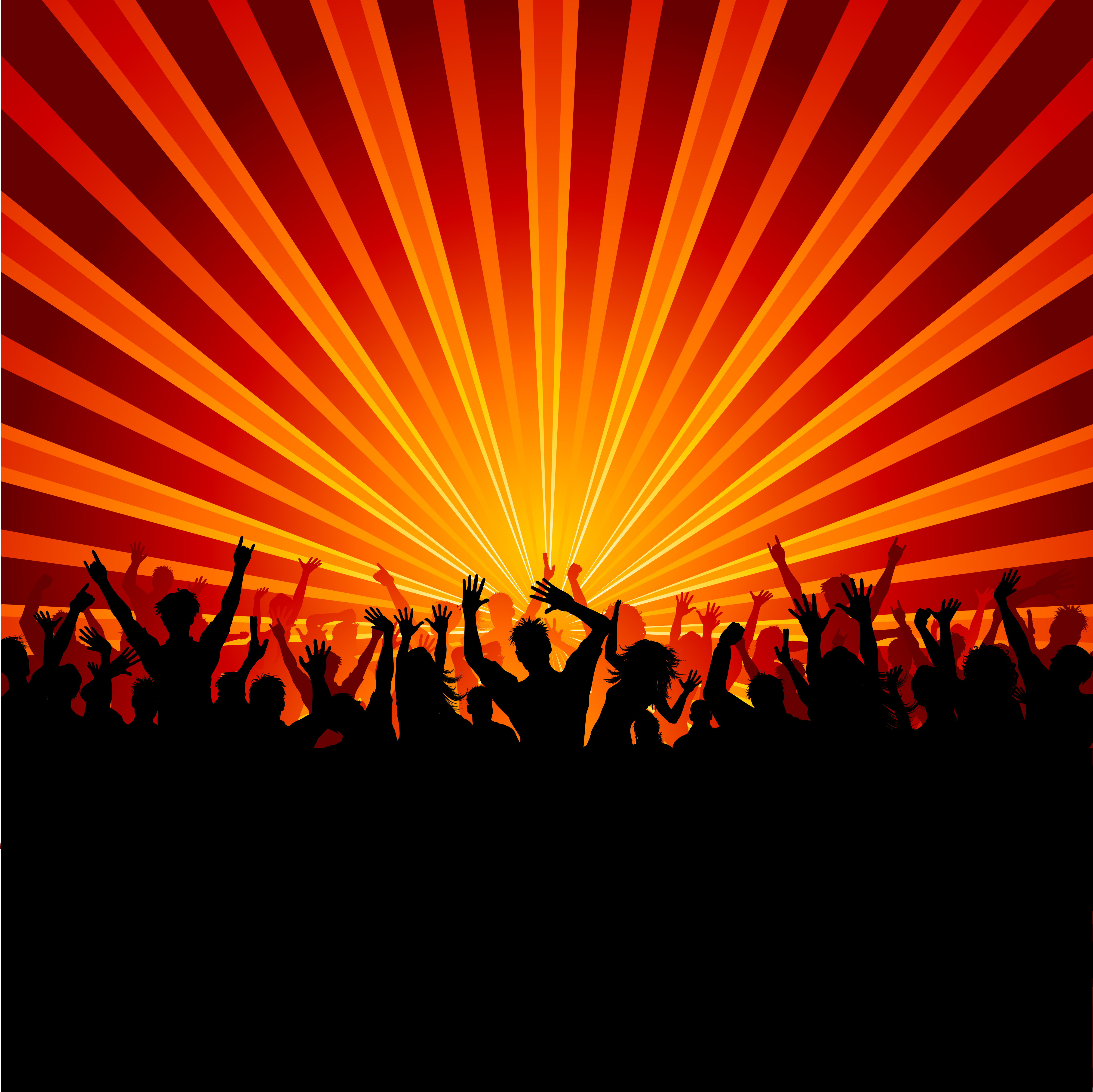 Party Crowd Download Free Vectors Clipart Graphics