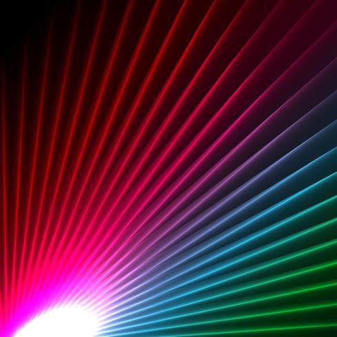 abstrakt starbust effekt bakgrund vektor