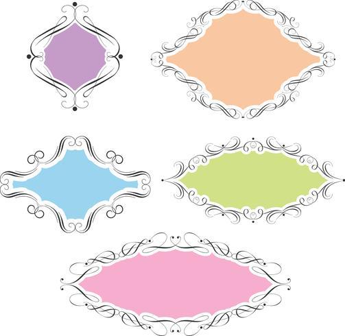 Dekorative Rahmen