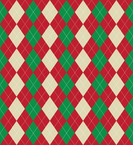 Kerstmis argyle patroon