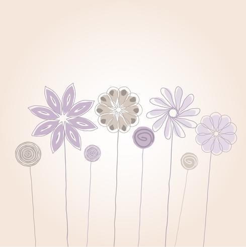 Schetsmatige bloemen