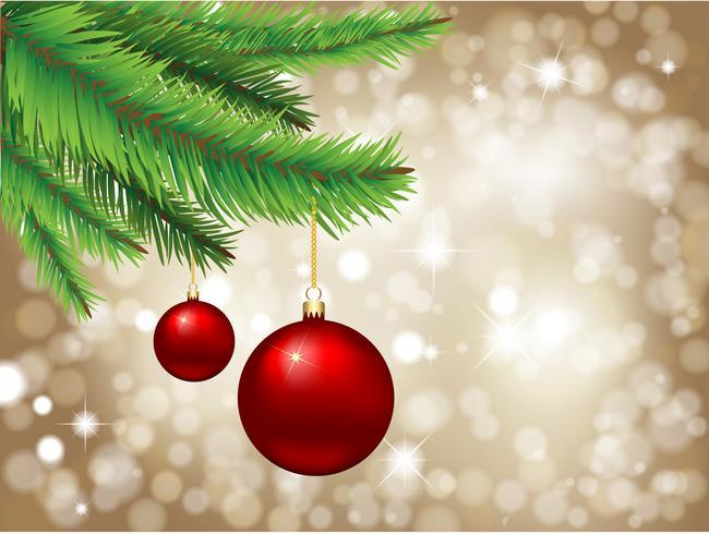 Weihnachtshintergrund vektor