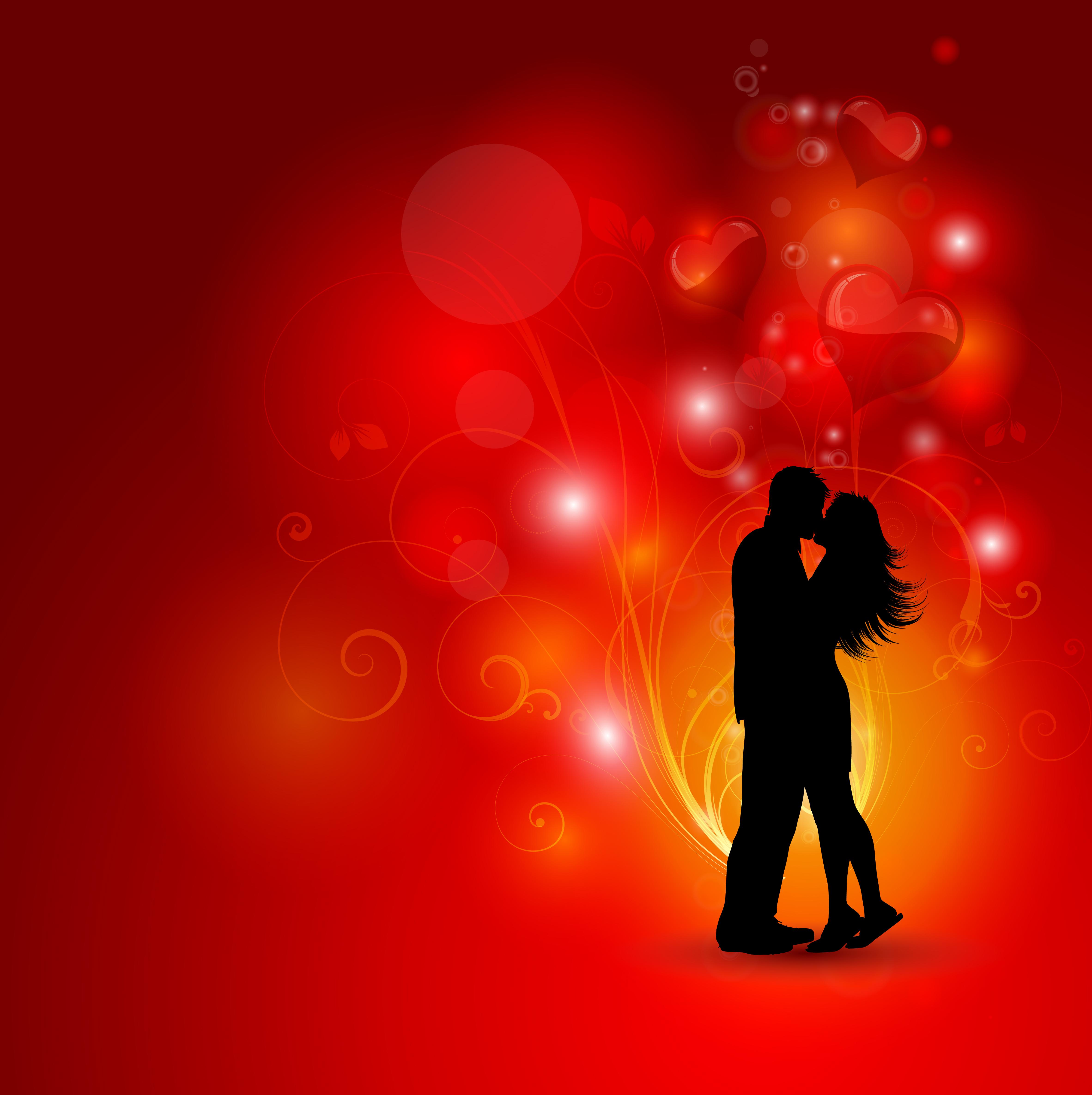 love couple free vector art