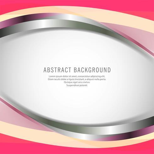 Abstracte kleurrijke elegante zakelijke golf achtergrond vector