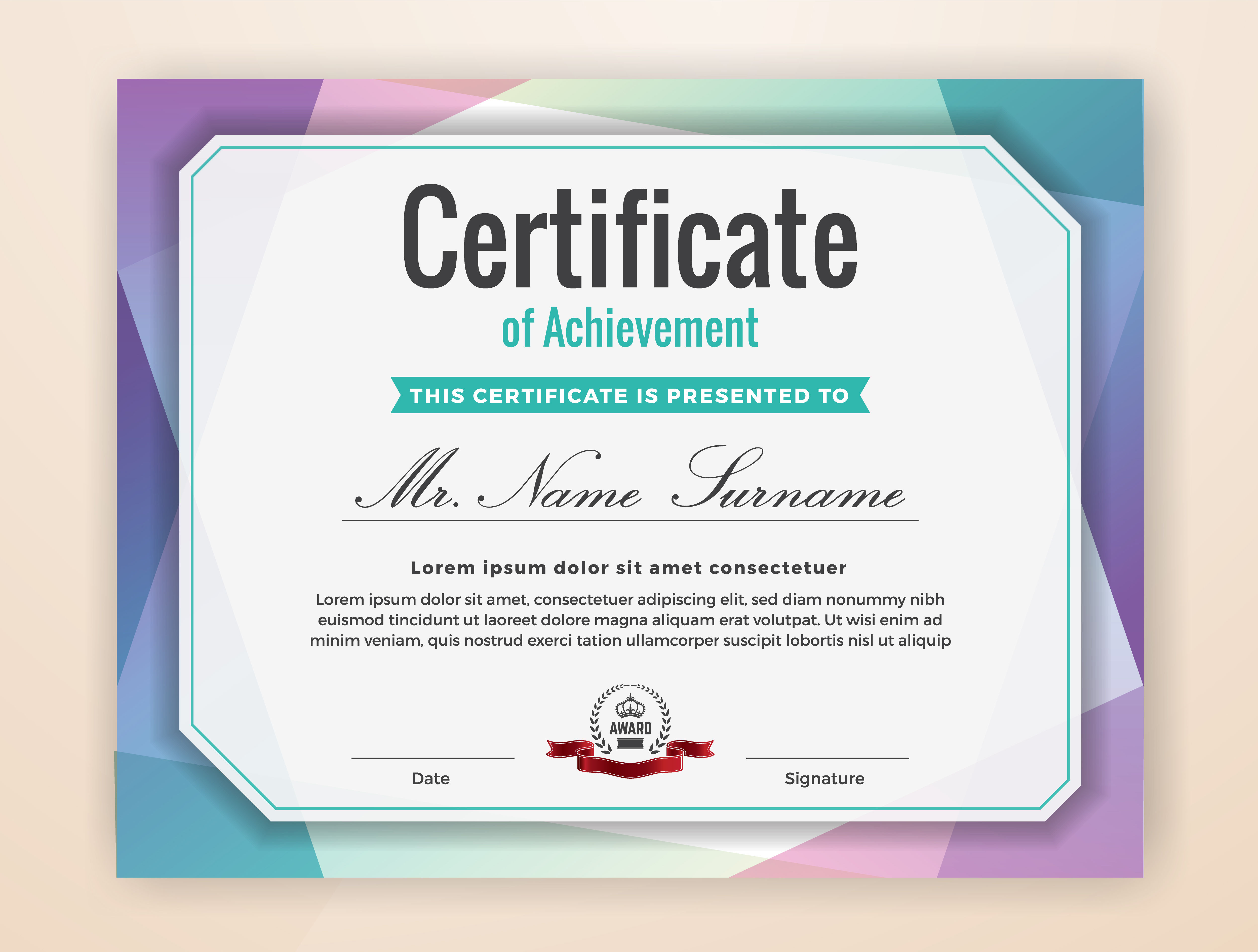 certificate borders free vector art 4475 free downloads
