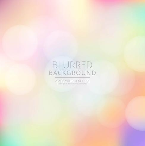 Hermoso fondo borroso colorido