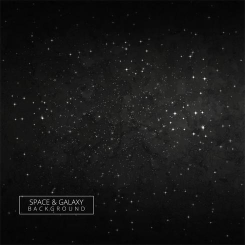 Vacker mörk galax bakgrund