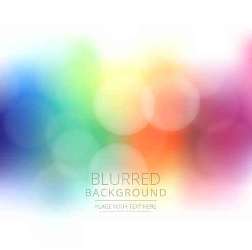 Illustration d'arrière-plan flou coloré abstrait