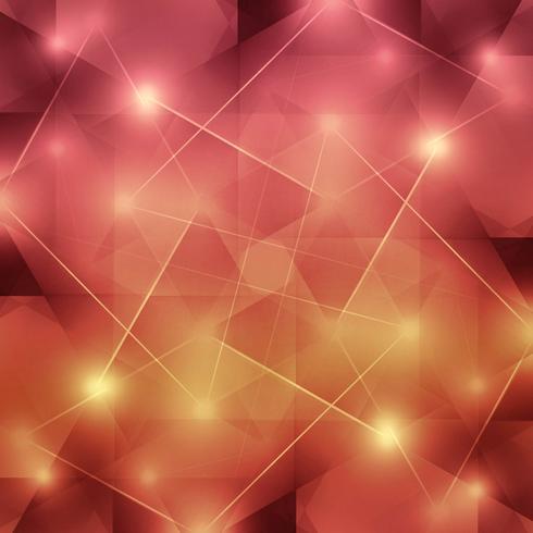 Fondo abstracto brillante colorido polígono geométrico