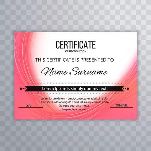 Modern certifiera våg bakgrunds illustration