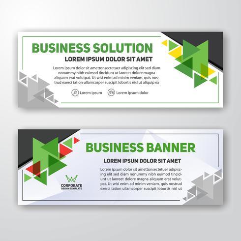 Modernes Unternehmensfahnen-Hintergrunddesign