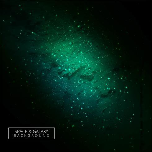 Abstrakt färgrik galaxbakgrund