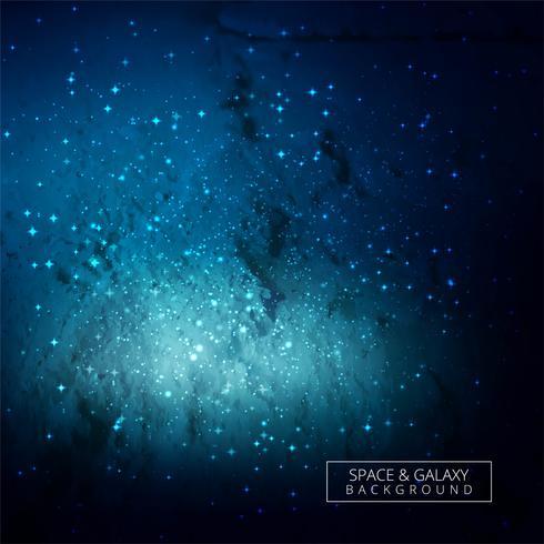 Abstracte universum blauwe galaxy achtergrond