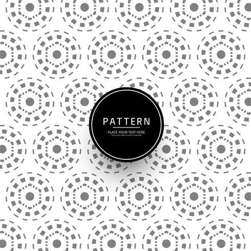 Abstract geometric creative pattern design