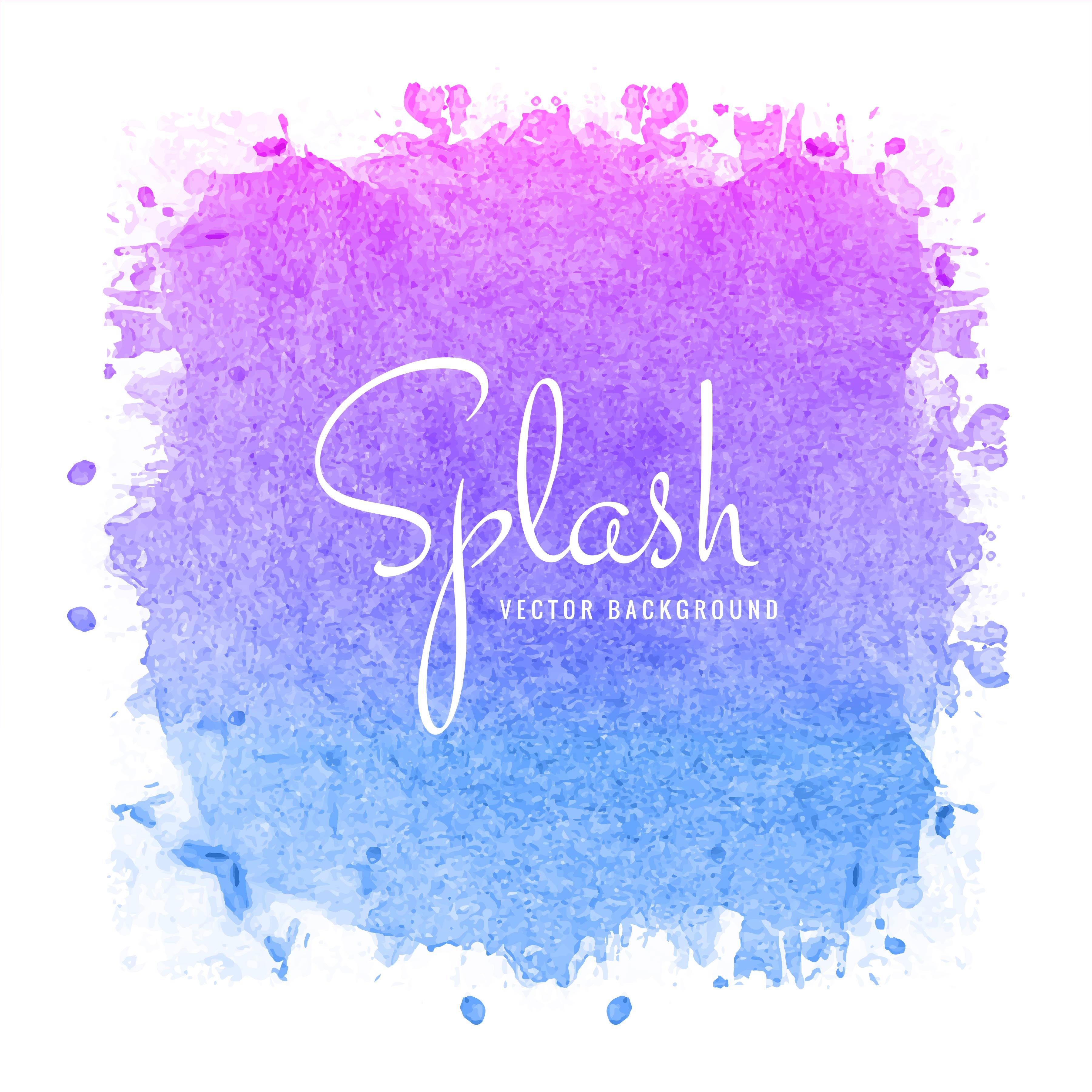 Colorful Watercolor Splash White Background Stock Photo ...  Colorful Watercolor Splash