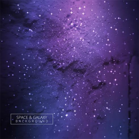 Modern färgstark galaxbakgrund