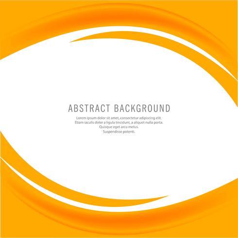 Abstrakt kreativ gul affärsvåg bakgrund