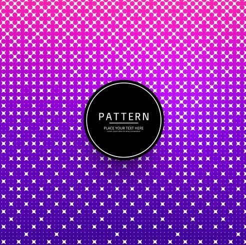 Geometrisk färgglad dekorativ kreativ mönsterdesign