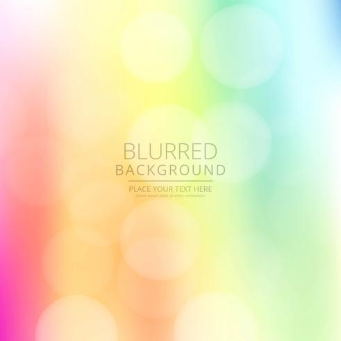 Elegant colorful blurred background