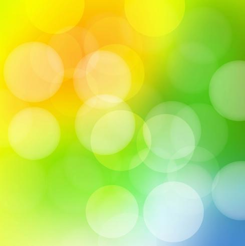 Beautiful colorful blurred background