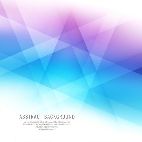 Astratto sfondo colorato bella geometrica