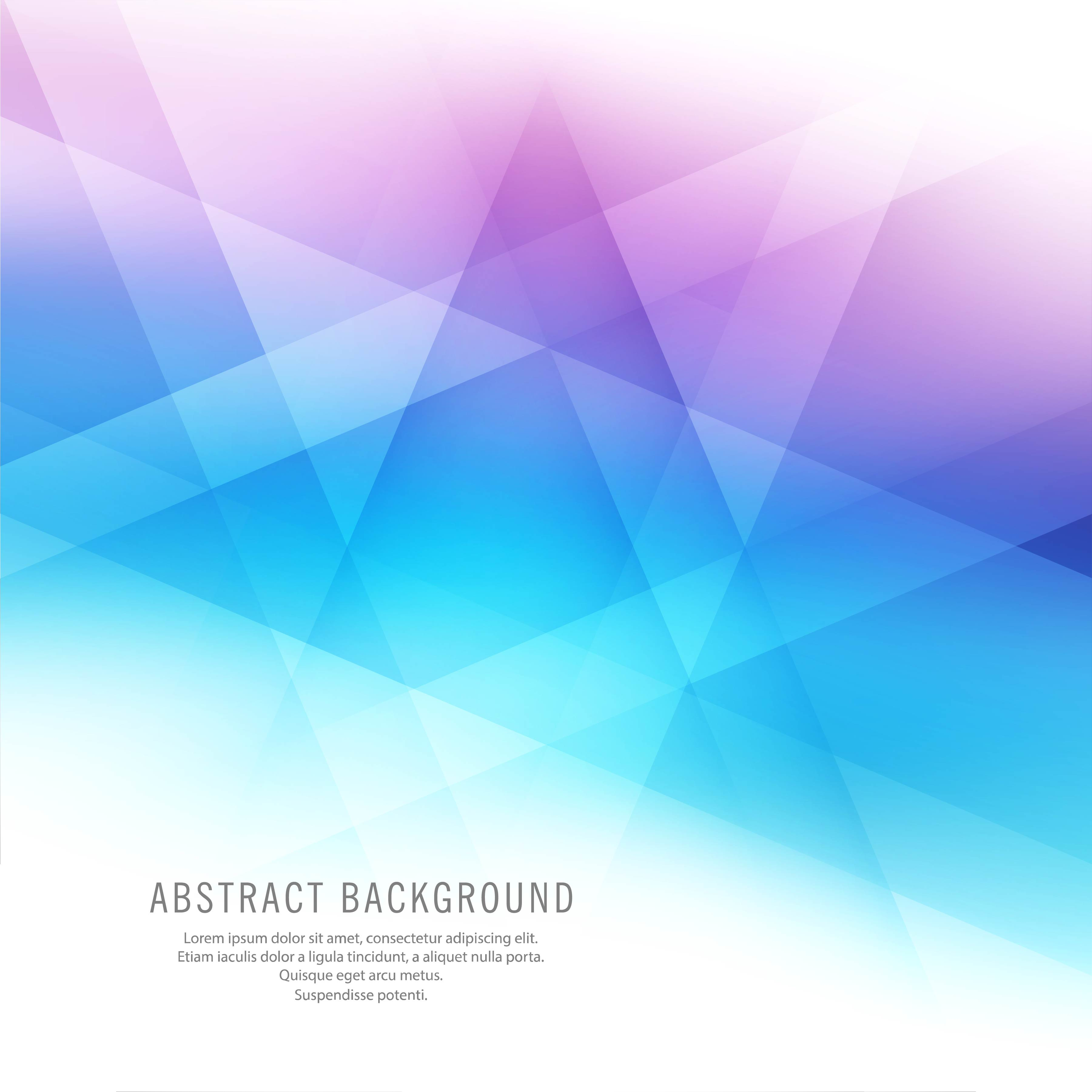 Abstract Colorful Geometric Beautiful Background