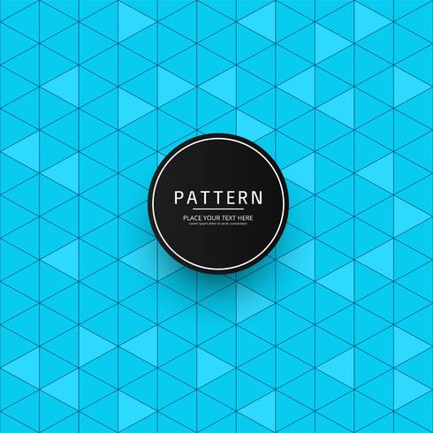 Modern blue geometric pattern background