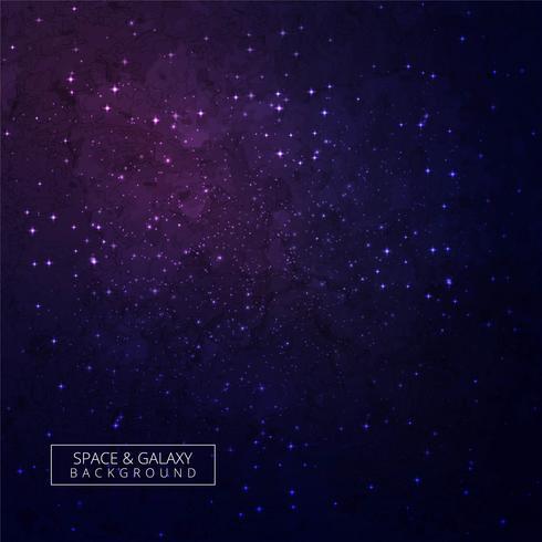 Vacker färgrik galax universum bakgrund