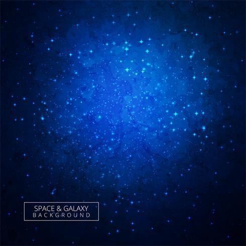 Galaxy universum färgglada bakgrund vektor