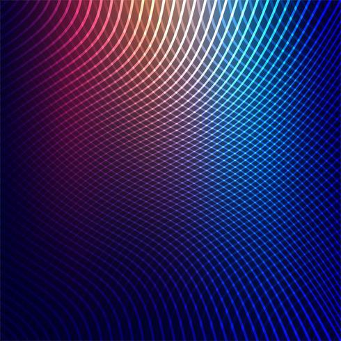 Vetor de design criativo colorido linhas geométricas abstratas