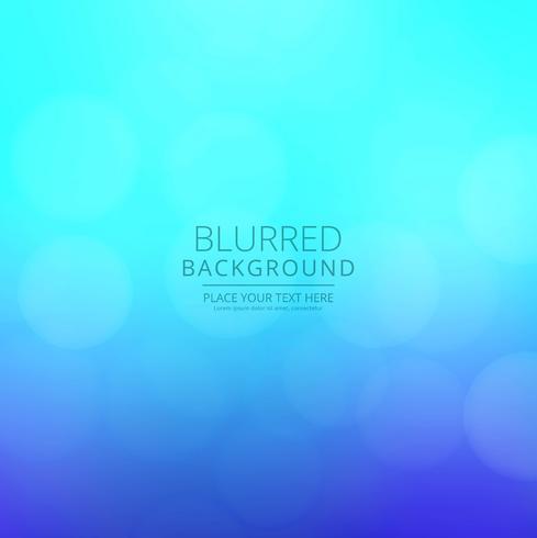 Abstrakter bunter unscharfer Hintergrundvektor
