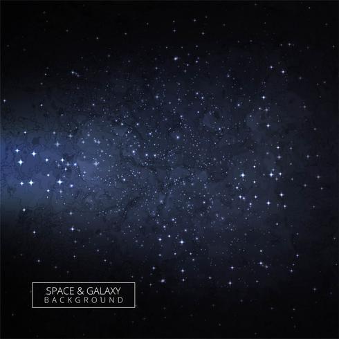 Universum vacker galax bakgrund vektor