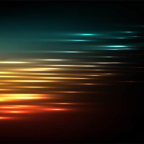 Abstract colorful brigth glowing vector background