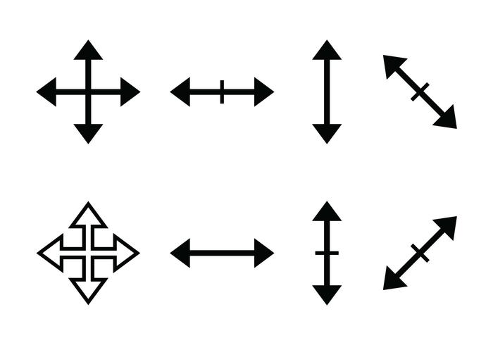 Icona del cursore vettore