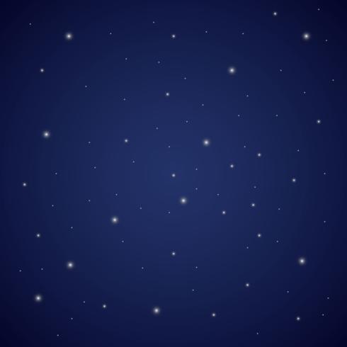 Star Dust Sky Vector