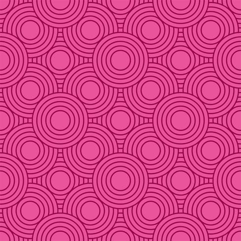 Abstracte geometrische cirkel patroon achtergrond